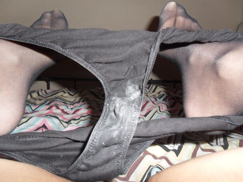 dry cum on panties