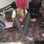 used_panties_school_girl_grey_tights_04