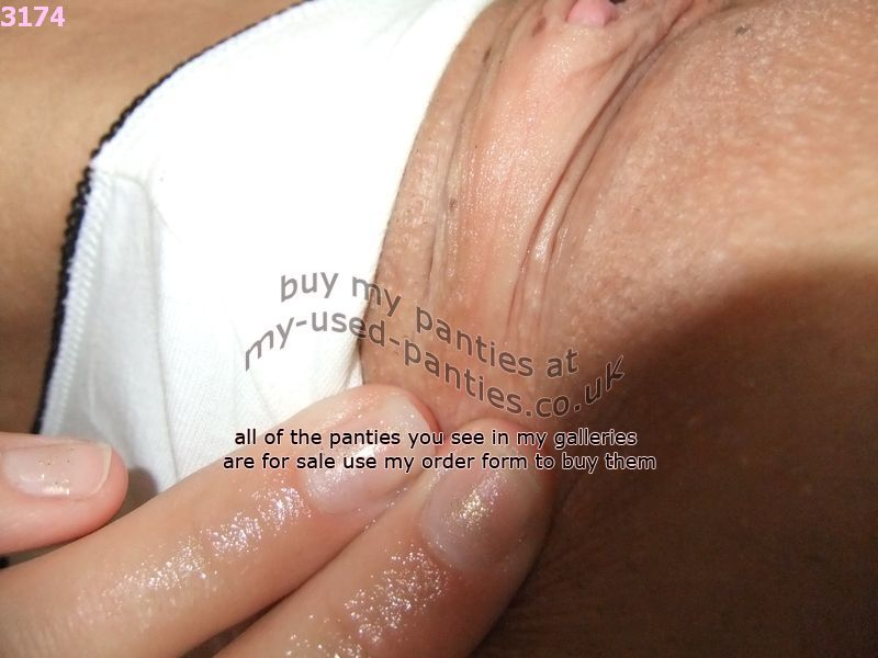 dirty knickers white cum soaked