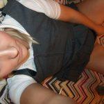 used_panties_school_girl_long_grey_socks_10
